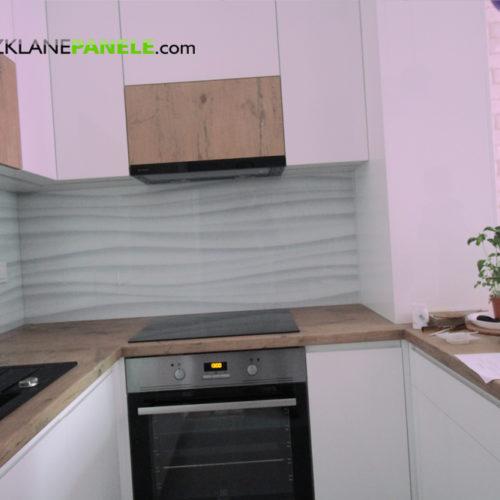 Realizacje paneli szklanych do kuchni i nie tylko